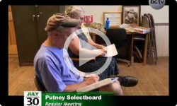 Putney Selectboard Meeting 7/30/14