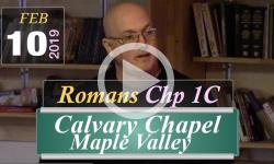 Calvary Chapel: Romans Chp 1C