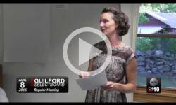 Guilford Selectboard Mtg. 8/8/16