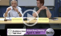 Brattleboro Union High School Bd. Mtg. 4/1/13