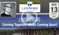 Landmark College Presents: Linus Owens, Coming Together While Coming Apart 11/13/18