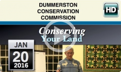 Dummerston Conservation Commission: Conserving Your Land 1/20/16
