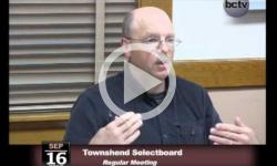 Townshend Selectboard Mtg. 9/16/13