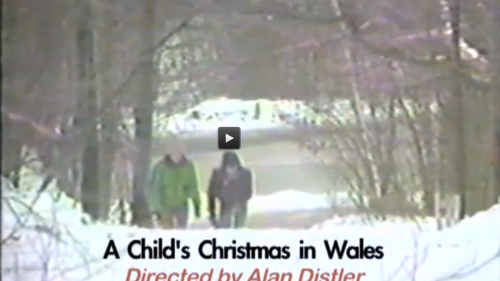 a childs christmas in wales directed by alan distler 1985 brattleboro community tv - Christmas In Wales
