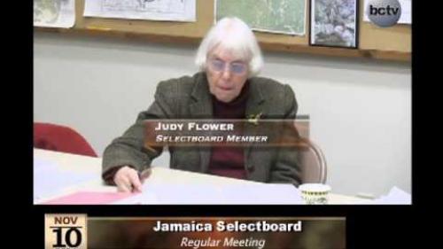 Jamaica SB Mtg 11/10/14 | Brattleboro Community TV