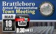 Brattleboro Annual Rep Town Mtg 3/19/16 [LIVE]